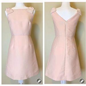 Kate Spade Pale Pink shoulder bow Dress #3029